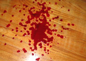 Blood Spills on Non-Carpeted Floors